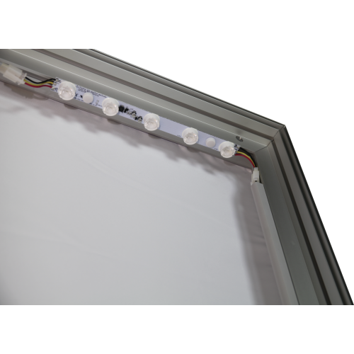 Vector Frame Light Box Rectangle 02 Fabric Banner Display